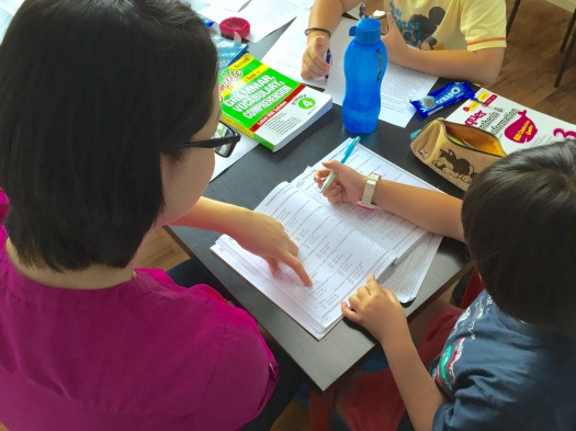 Punggol English Tuition PSLE Primary P1 2 3 4 5 6 Small group Tutorials Review
