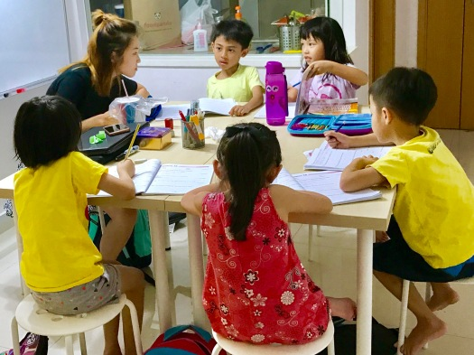 Punggol English Math Science Female tutor Tuition Small Group