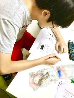 "Yishun Science students advance up and tackle complex Science questions by thinking logically from a scientists' point of view. We make them into ""junior"" Scientists in our tuition classes."
