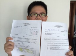 This boy did a 256 for his PSLE. Yishun