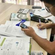Making a mistake is a good thing during our tuition, which means he wises up and knows where he went wrong. Our tutor needs to guide them properly, and in time, weed out most of the mistakes for A1 in GCE O levels.