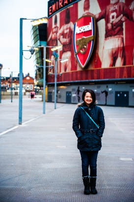 Yishun Tutor Yuet Ling in Manchester United Football